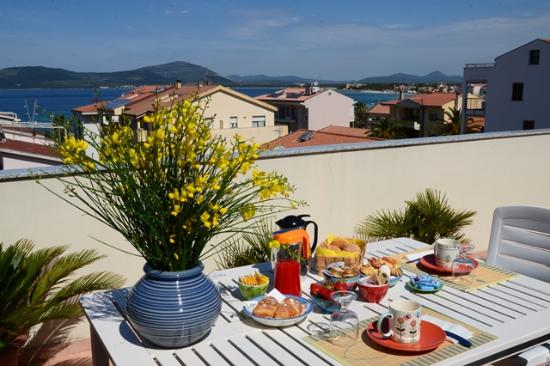 Lloc d'Or B&B: see wiew penthouse