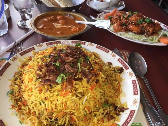 Mughal Mahal: Very tasty meal