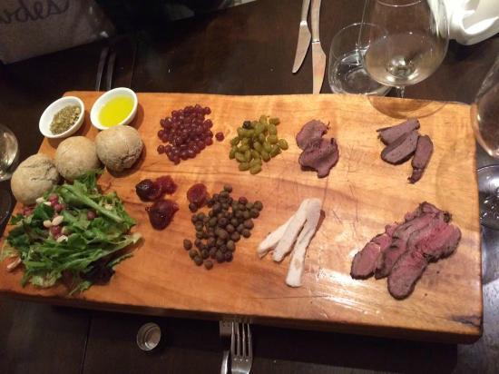 Sampler platter picture of tukka restaurant brisbane for Australian cuisine brisbane