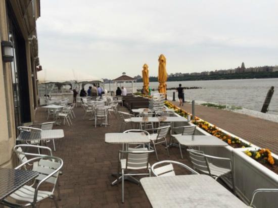 Waterside Restaurant Catering Deck At