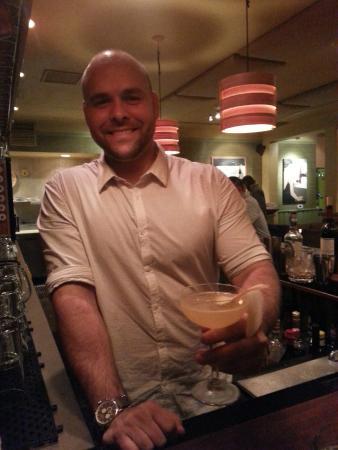 Cin-Cin Bar Manager Matthew Gaines