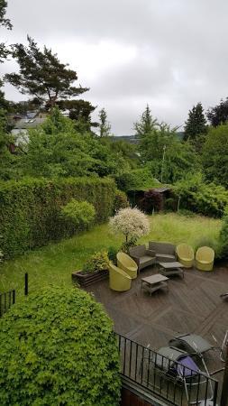 Hotel Myrtilles : Uitzicht vanuit de kamer