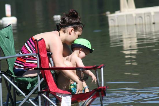 Tulameen, Canada: lake fun