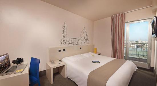 B&B Hotel Firenze City Center: Este foi meu quarto em hospedagem entre 10 e 13 de junho de 2015