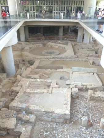 Chat Tours - Day Tours : The excavation site under the Acropolis Museum