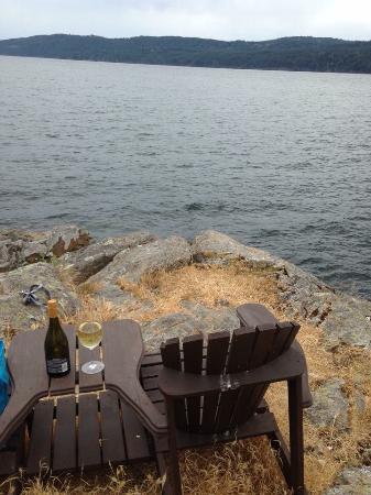 Spindrift Oceanfront Cottages: Peaceful spot