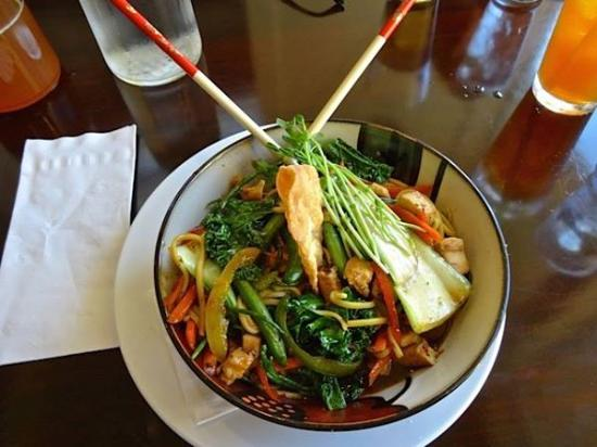 Long Beach, WA: stir fry