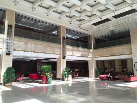 Holiday Inn Temple of Heaven : Beautiful lobby