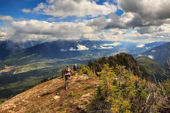 Golden, Canada: 100 km of epic cross country biking