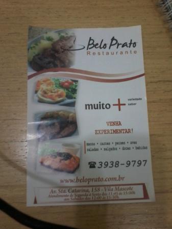 Belo Prato Restaurante