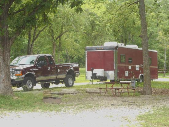 Lone Jack, Missouri: Camp site