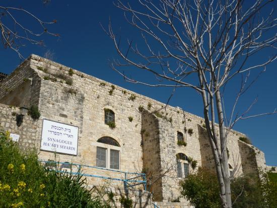 The Sephardic Synagogue of the Ari: Внешний вид