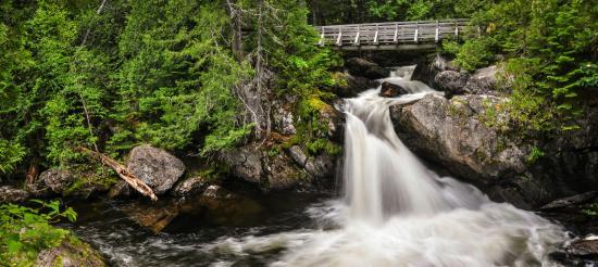 Saint-Quentin, Canada: Williams falls