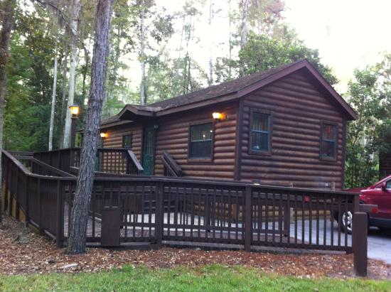 The Cabins At Disneyu0027s Fort Wilderness Resort: Accessible Cabin