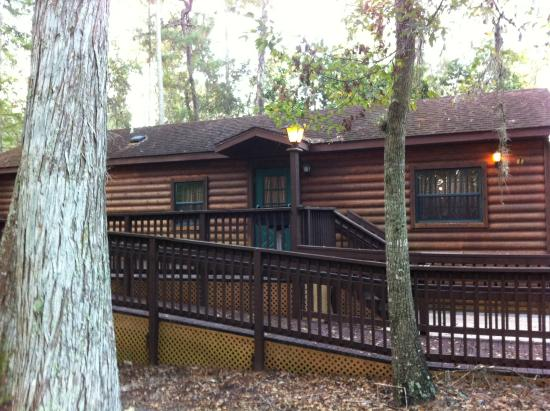 Incroyable The Cabins At Disneyu0027s Fort Wilderness Resort: Accessible Cabin