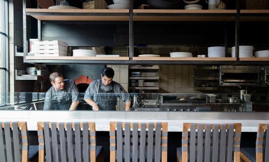Four Seasons Residence Club Aviara: Seasons Restaurant Chef's Counter