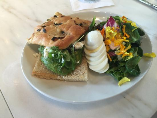Coogies Beach Cafe: Inside the new Ollo Restaurant, with two of their signature dishes