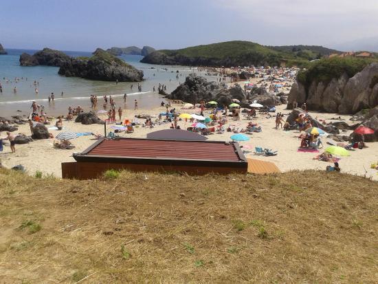 Playa De Troenzo Picture Of Camping Playa De Troenzo Celorio Tripadvisor