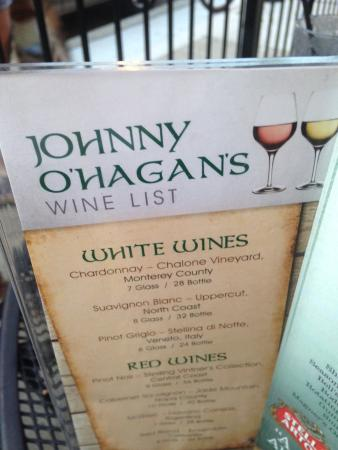 Johnny O' Hagan's Irish Pub & Restaurant