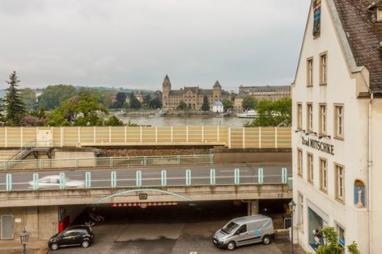 Kulturhotel Koblenz: Вид из окна на Рейн