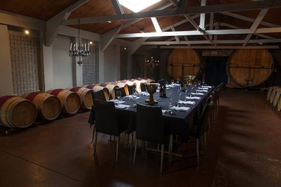 Vidal Estate Winery Restaurant: Barrel Room