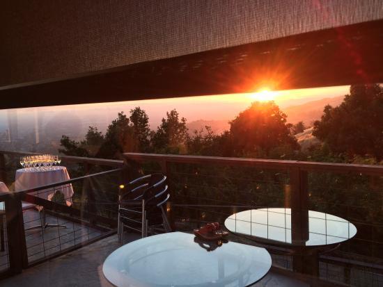 Mount Hamilton Grandview Restaurant Sunset