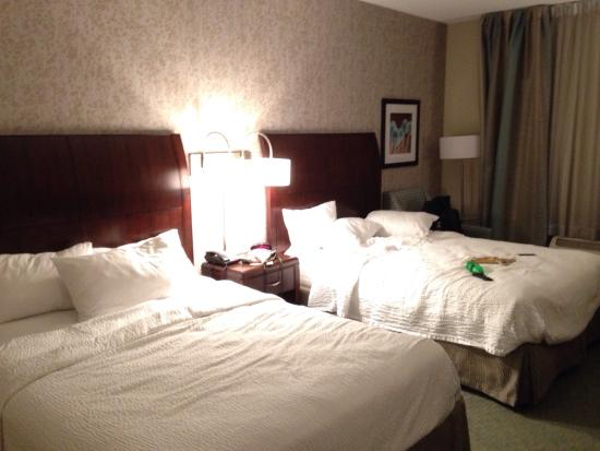 Fairfield Inn & Suites Great Barrington Lenox/Berkshires : Chambre double