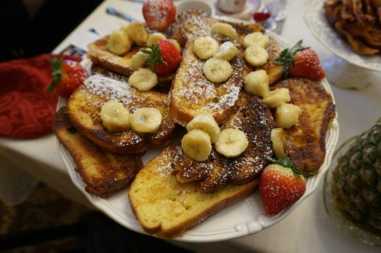 Cresson House Bed & Breakfast: Delicious breakfast