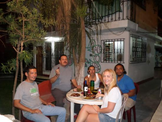 A Place to Stay Hostel: Churrasco