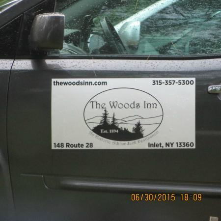 The Woods Inn: Car