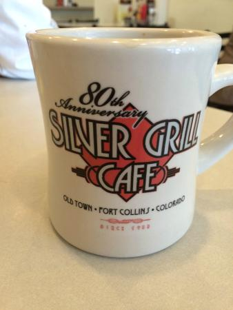 The Silver Grill Cafe: Vintage coffee mugs (available for purchaseO