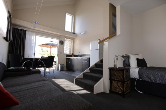 Anchor Lodge Coromandel: Spa Apartment