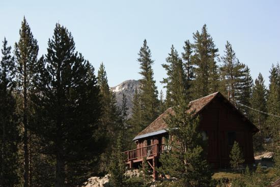 "Tioga Pass Resort: ""Motel"" building - 4 rooms.  There are also separate and larger cabins"