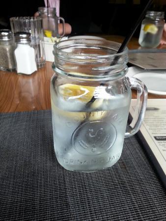Duxbury, MA: love the mason jars!