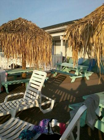 Beach Bum Motel: balcony