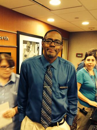 Hampton Inn & Suites Fort Worth-West/I-30: Dwight is one of the nicest people you will ever meet.