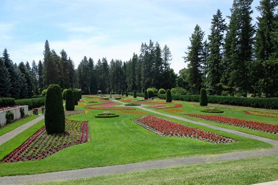 A View Of Duncan Garden Picture Of Manito Park Spokane Tripadvisor