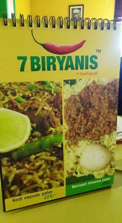 7 biryanis by kuchipudi hyderabad restaurant reviews for Crystal 7 cuisine hyderabad