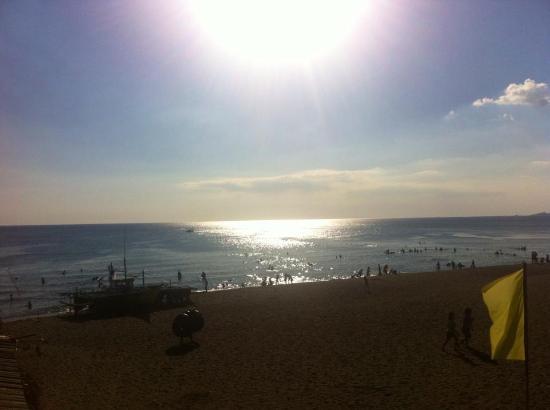 Bagac Bay Beach Resort Location