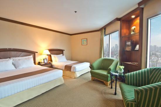 Baiyoke Sky Hotel: Deluxe Room, Sky Zone (Floor. 46-63)