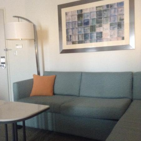 SpringHill Suites Salt Lake City Airport: Sitting area