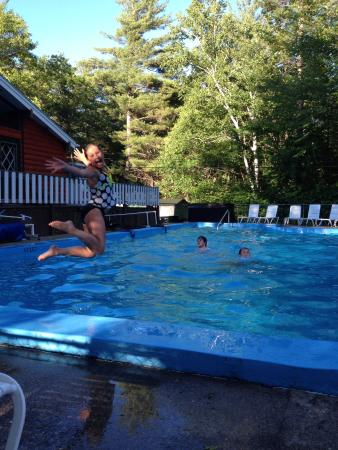 Timberland Campground : Awesome pool