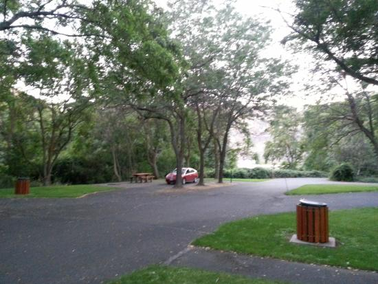 Wawawai County Park: camping area
