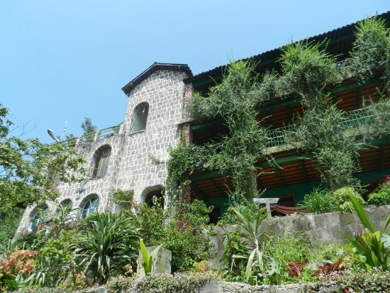View Of The Front Picture Of Eco Hotel Uxlabil Atitlan San Juan