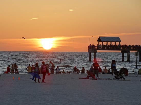 GulfView Hotel - On The Beach: Por do sol em Clearwater