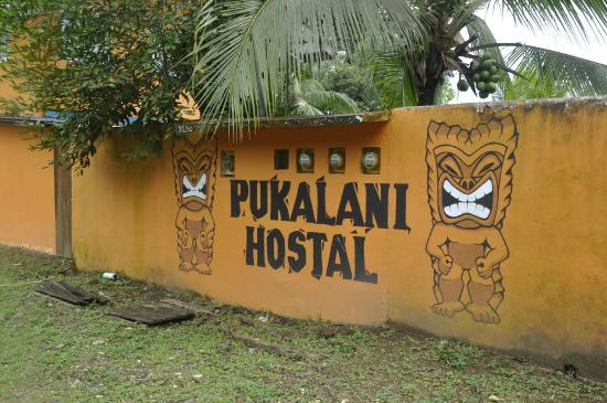 Pukalani Hostal: front entrance