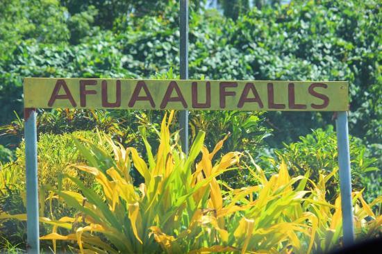 Afu Aau Waterfall: Afuaau Falls, Palauli, Savaii, Samoa