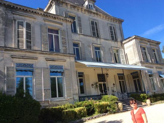 Domaine du Breuil: Front of building