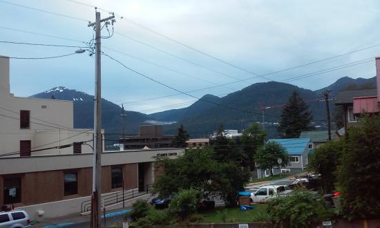 Juneau International Hostel : View from the Kitchen