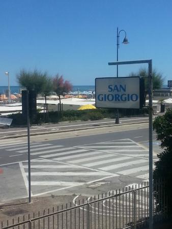 San Giorgio Hotel: Vista dalla sala da pranzo